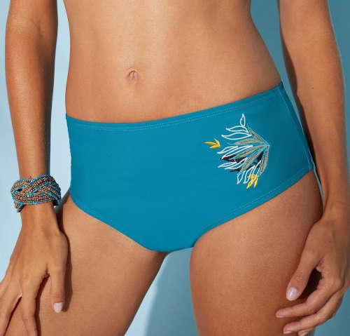 Plavkové maxi nohavičky Blancheporte Oran pre ploché bruško
