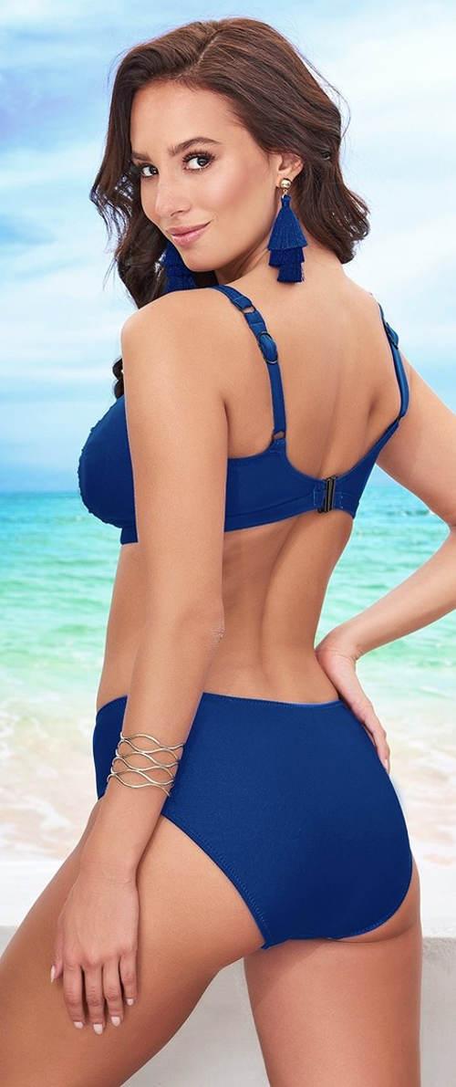 Plavky vhodné pre veľké prsia Volin Clyte Blue
