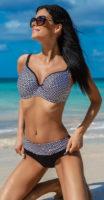 Dámske dvojdielne plavky pre plnoštíhle Avalingerie Alicia