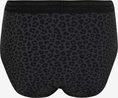 Vysoké opticky zoštíhľujúci tmavé plavkové nohavičky