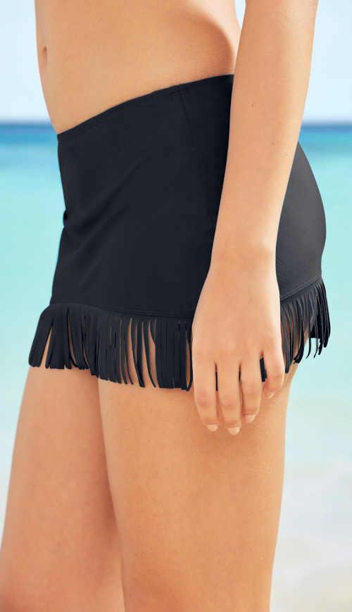 Dámska plavecká sukňa Sea