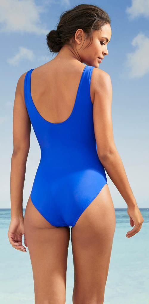Modré športové plavky Bonprix